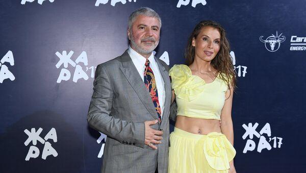 Певец Сосо Павлиашвили с супругой Ириной Патлах - Sputnik Արմենիա