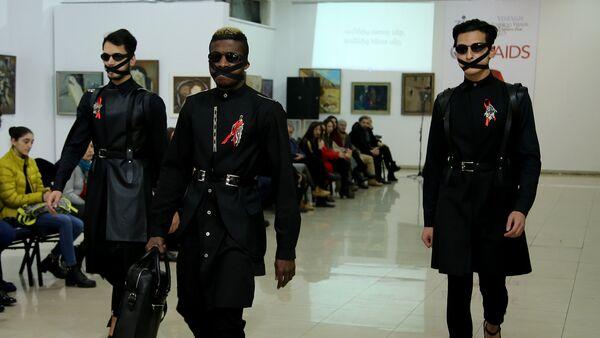 Международный конкурс дизайнеров Fashion Aids Line - Sputnik Արմենիա
