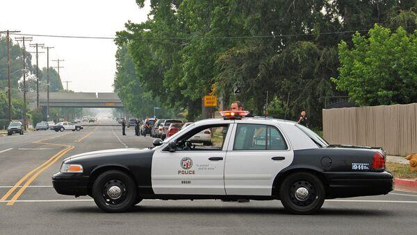 Полиция Лос Анджелеса, США - Sputnik Армения