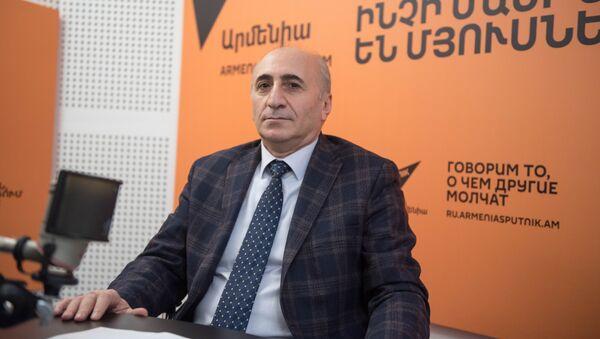Руководитель Центра инновационных и институциональных исследований Армянского государственного экономического университета Атом Маргарян - Sputnik Արմենիա