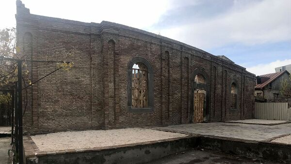 Церковь Сурб Аствацацин в Тбилиси - Sputnik Արմենիա