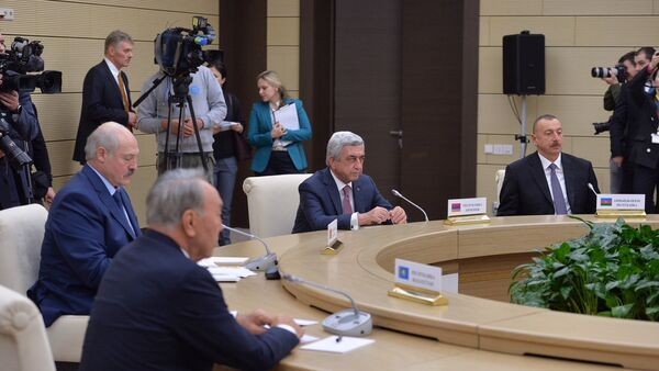 Неформальная встреча глав государств-участников СНГ - Sputnik Армения